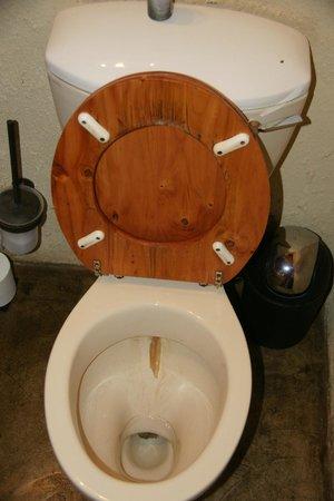 Umkumbe Safari Lodge: Toilette Zimmer 6