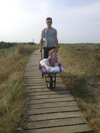Thornham Bay - Wild Luxury: Trip back from the beach