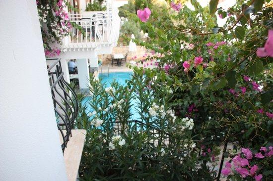 Korsan Apartments: Our balcony
