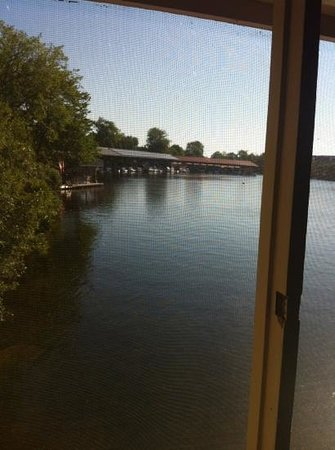 Stonyhurst Inn: awesome view from the bedrooms of the boathouse