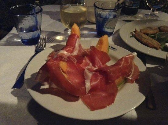 LO Guarracino : Classic Ham and Melon