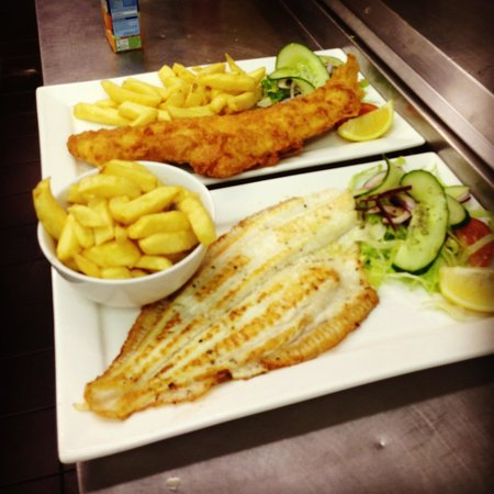 Fish 2 Go: Grill fish