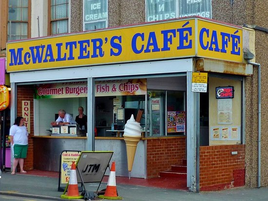McWalters Cafe: McWalter's Cafe, Rhyl