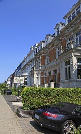 Eilenau Hotel: Hotel Eingang an der Eilenau 36-37