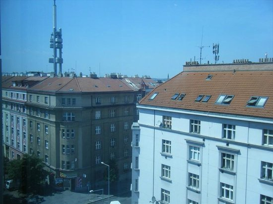 Courtyard Prague City : View looking west from room 709