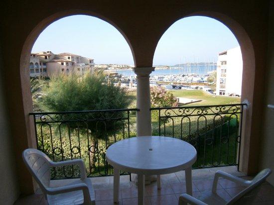Pierre & Vacances Residence Les Rivages de Coudouliere: Panorama dalla terrazza