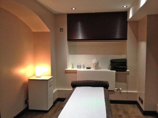 Treatments at Bank: Massage Room