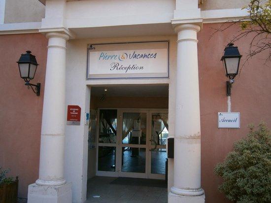 Pierre & Vacances Residence Les Rivages de Coudouliere: Entrata della reception