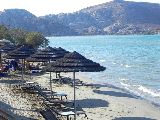 Astir of Paros: The beach