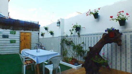 Nomadas hostel: Terrace