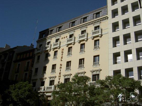 Hotel Oriente: LA FACCIATA DELL'HOTEL