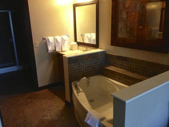 Wyndham Vacation Resorts at Glacier Canyon: Master bathroom