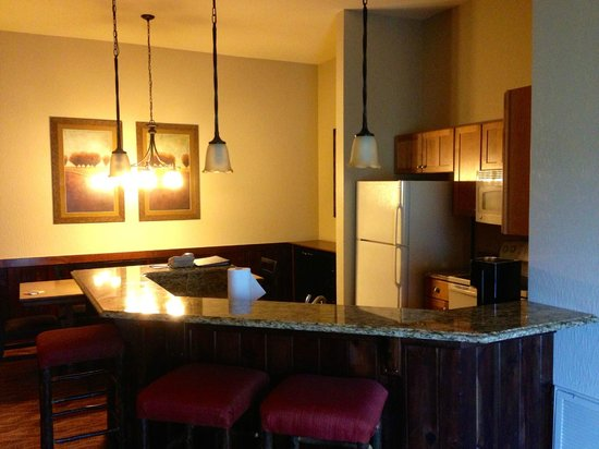 Wyndham Vacation Resorts Glacier Canyon: Kitchen