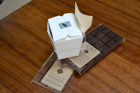 Soma Chocolate: A few of our choices