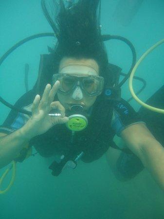 Aquaplanet Mergulho: Batismo
