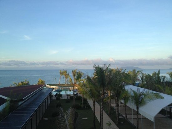 Ciriaco Hotel: view from my room