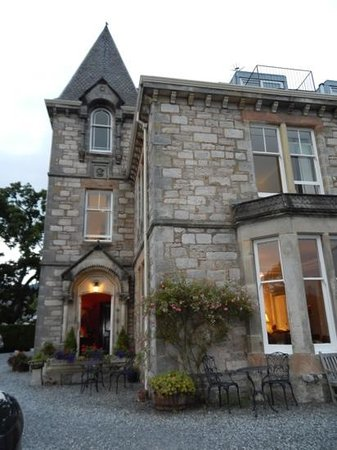Knockendarroch Hotel & Restaurant : Knockendarroch House in Pitlochery
