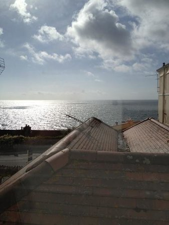 Lyme Bay House: view from room