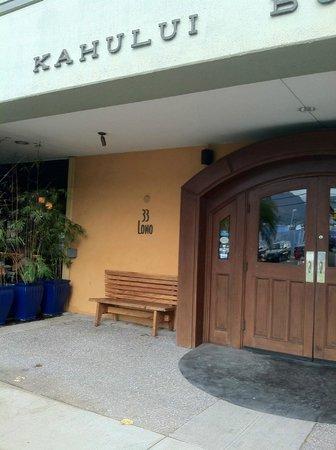 Bistro Casanova: entrance
