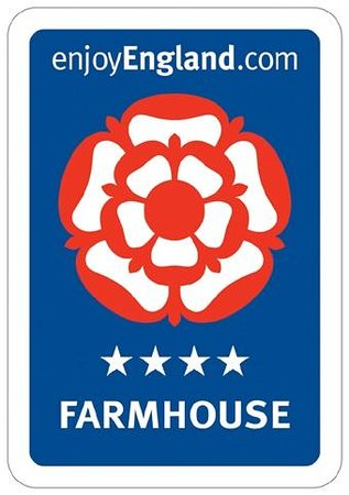 Pounds Farm B&B: We hold a Four Star rating with Visit Britain.