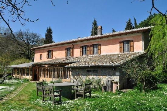 Casale Hortensiae: Veduta del Casale