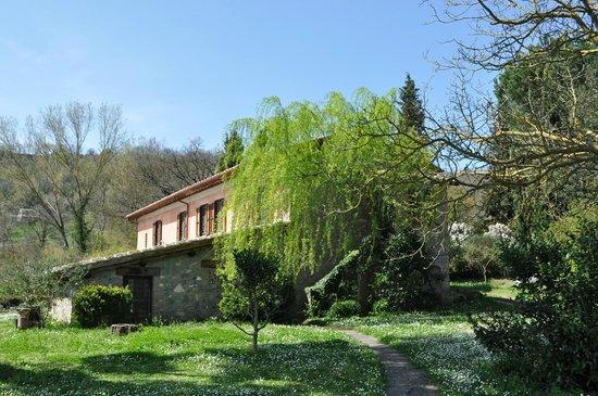Casale Hortensiae: Veduta casale