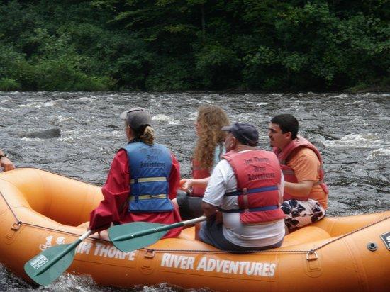Jim Thorpe River Adventures : rapids ahead!