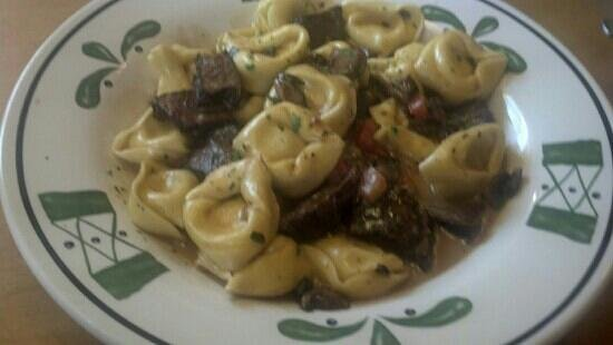 Olive Garden: Braised beef and tortellini... so tender and juicy.