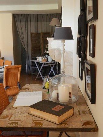 Domaine de la Corgette : sala colazioni