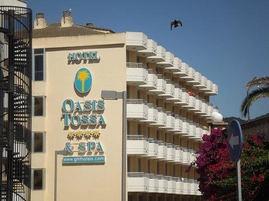 Hotel GHT Oasis Tossa & SPA : Hôtel