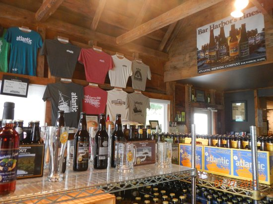 Atlantic Brewing Company : Interior