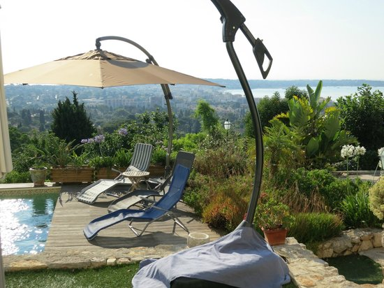La Bigarade: Aussicht auf das Meer vom Zimmer aus