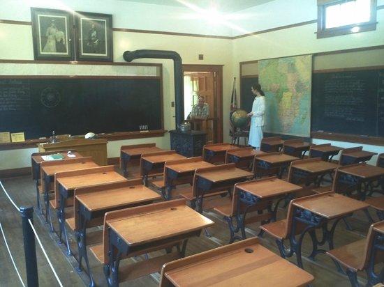 Burnaby Village Museum: School house