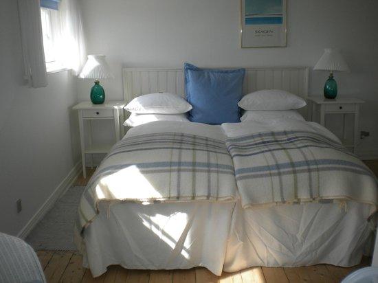 Ruths Hotel: Sovrum i vår svit.