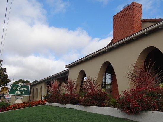 El Castell Motel: Entrée motel