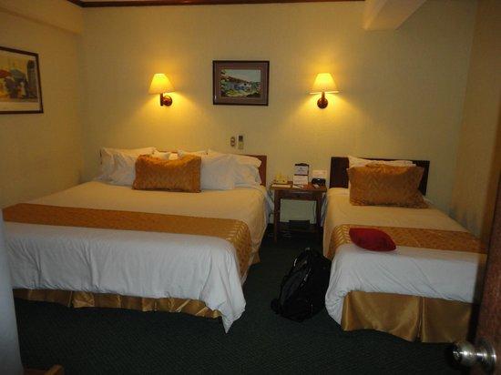 BEST WESTERN Kamuk Hotel & Casino: Nice beds.