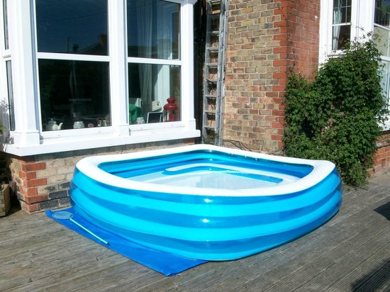 Tudor Terrace Guest House: Large Pool with seat