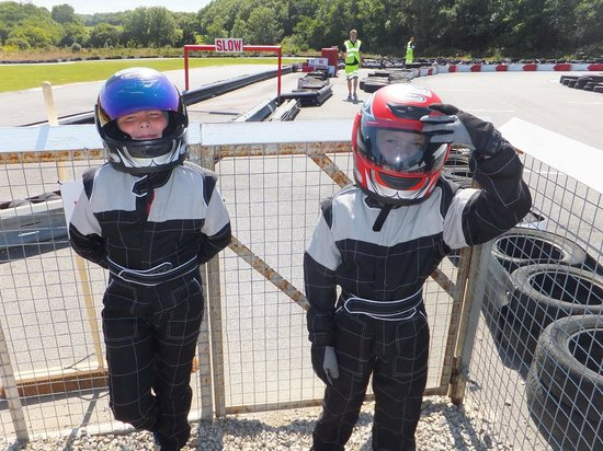 Coast 2 Coast Karting: Kitted up and ready to go (Ages 8 & 10)