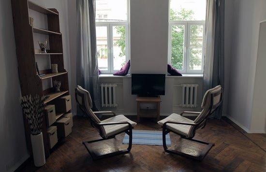 Labordage Hostel : гостинная
