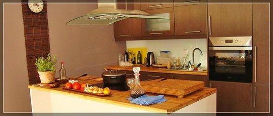 Villa Mike: Kitchen