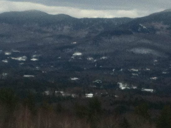 Trapp Family Lodge: View of the Green Mountains from our room