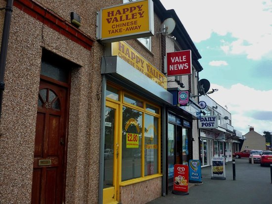 Happy Valley Chinese Takeaway, Rhyl