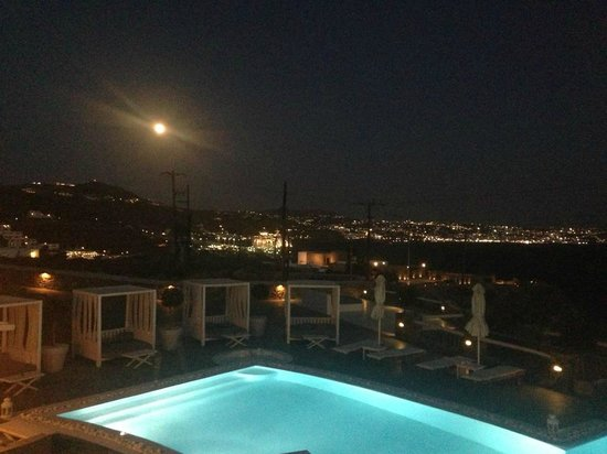 Rocabella Mykonos Art Hotel & SPA : Vista