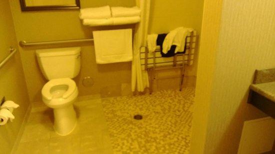 Hilton Garden Inn Rapid City : Great walk in shower