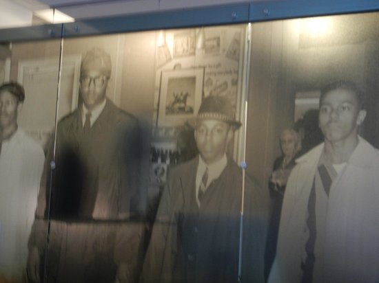 International Civil Rights Center & Museum: Many photo's of the actual event