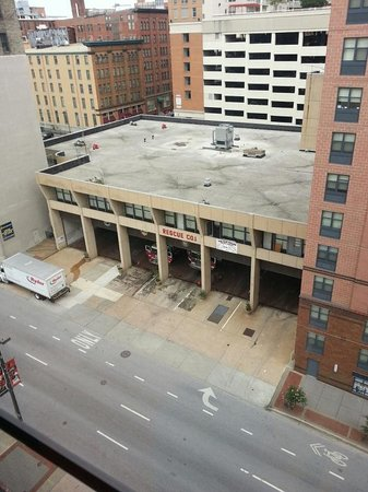 Holiday Inn Baltimore-Inner Harbor: Busiest fire house in the country