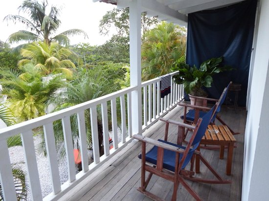 Hotel Horizontes de Montezuma: Balkon