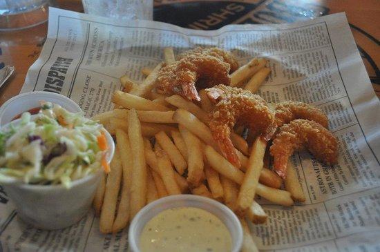 Bubba Gump Shrimp Co : Mama Blue's Southern charmed fried shrimp