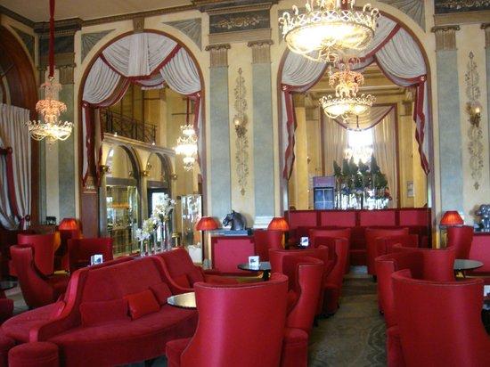 Salon fotograf a de h tel barri re le royal deauville - Salon de the deauville ...