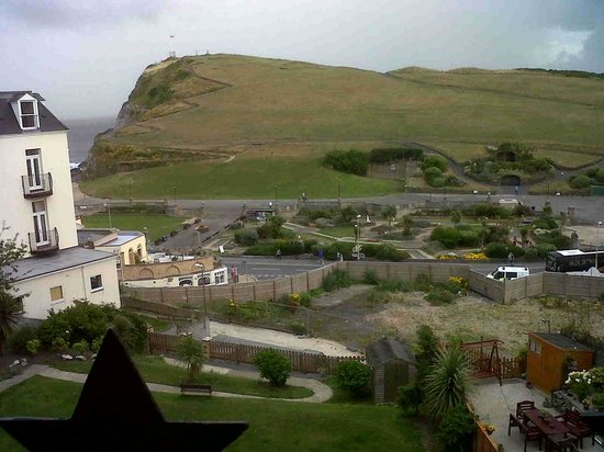 Crescent House Hotel: View from our room